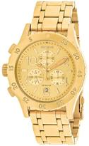 Nixon 38-20 A404-501 Women's Gold Tone Stainless Steel Chronograph Watch