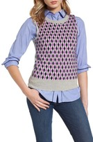 J.Crew Women's Jackie Argyle Lightweight Wool Shell