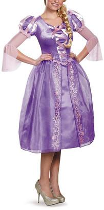Rubie's Costume Co Rubie's Women's Costume Outfits - Purple & Pink Rapunzel Floral Lattice-Front Costume - Women