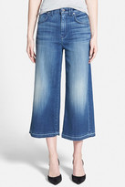 7 For All Mankind Faded Denim Culotte