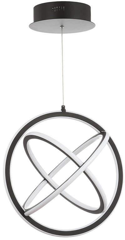 Jonathan Y Designs Orbit Adjustable Integrated Led Metal Pendant