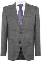 Hugo Boss Huge Genius Check Melange Suit