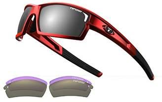 Tifosi Optics Camrock Interchangeable Sunglasses - Smoke/AC Red/Clear