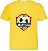 HQ Tees Little Boy/Girl Colombia Soccer016 Top Quality Toddler Tee