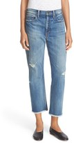 Vince Women's Union Ripped Slouch Jeans