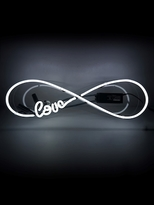Oliver Gal Love Infinity Neon Sign