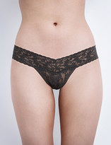 Hanky Panky Signature stretch-lace low-rise thong