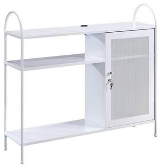 Sauder Cottage Road Decorative Storage Cabinet White