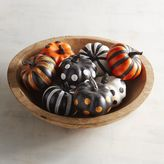 Pier 1 Imports Glittered Mini Pumpkin Set