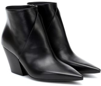 Burberry Ashlington leather ankle boots