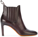 Santoni heeled chelsea boots - women - Leather/rubber - 36
