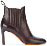 Santoni heeled chelsea boots