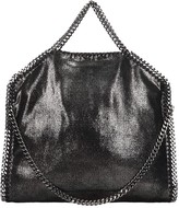 Stella McCartney Falabella Tote In Silver Faux Leather