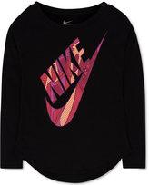 Nike Futura Graphic-Print T-Shirt, Toddler Girls (2T-4T) & Little Girls (2-6X)