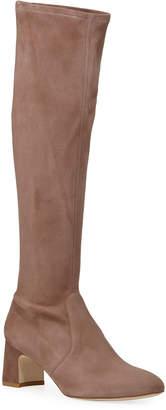 Stuart Weitzman Milla Suede Knee Boots