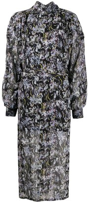 IRO All-Over Print Dress