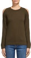 Whistles Split Shoulder Sweater