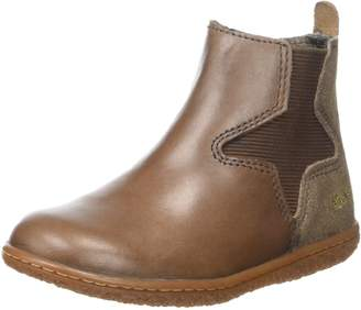 Kickers Vermillon Girls' Chelsea Boots Brown Size: 2UK Child