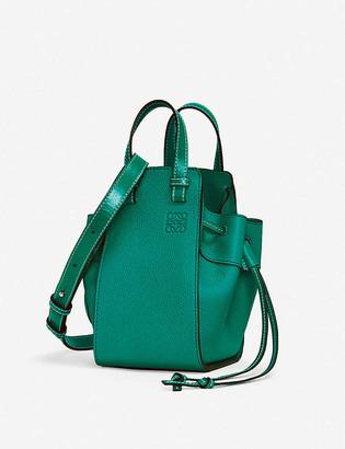 Loewe Hammock mini leather shoulder bag