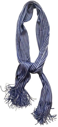Balenciaga Blue Viscose Scarves