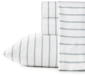 Stone Cottage Trenton Stripe Cotton Percale Full Sheet Set Bedding