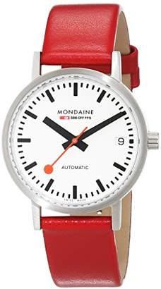 Mondaine SBB Elegant Wrist Watch for Men (A128.30008.16SBC) Swiss Made