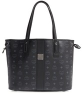 MCM 'Medium Liz' Reversible Shopper - Black