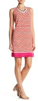 Julie Brown Leah Scoop Neck Shift Dress