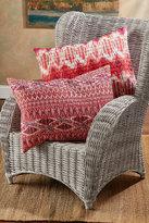 Soft Surroundings Tulum Bed Sham - Fuchsia Ikat