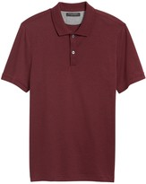 Banana Republic Slim Luxury-Touch Polo Shirt