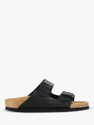 Birkenstock Arizona Narrow Fit Birko Flor Sandals, Black