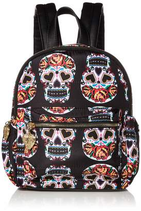 Betsey Johnson Head Case Nylon Backpack
