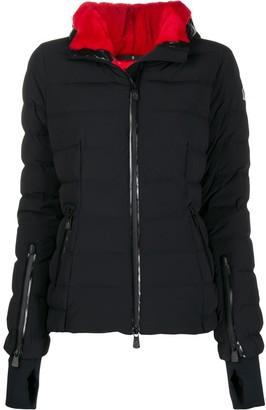 Moncler front zip puffer jacket