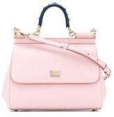 Dolce & Gabbana Dolce E Gabbana Women's Pink Leather Handbag.