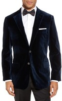 Hickey Freeman Men's Classic B Fit Stretch Velvet Dinner Jacket