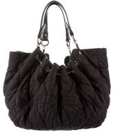 Chanel Quilted Denim Cabas Tote