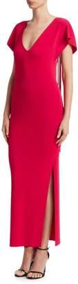 Roberto Cavalli Fringe Back Dress