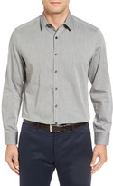 Robert Barakett &Raphel& Pin Dot Oxford Sport Shirt