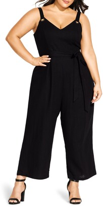 City Chic So Breezy Jumpsuit