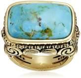 "Barse Basics"" Genuine Scrolled Bronze Ring, Size 7"