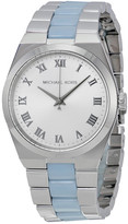 Michael Kors Channing Silver Dial Ladies Watch