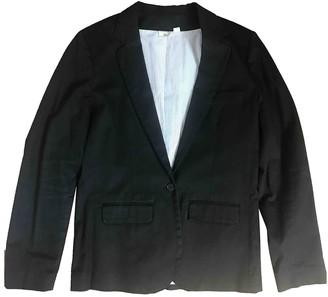 soeur Black Cotton Jackets