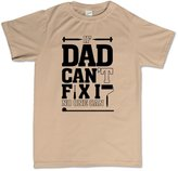 Customised Perfection If Dad Can't Fix It No One Can Fathers Day Gift for Dad T Shirt L