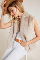 Velvet by Graham & Spencer Chelle Cropped Fur Vest