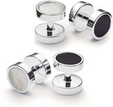 Charles Tyrwhitt Mother-of-pearl and onyx evening studs