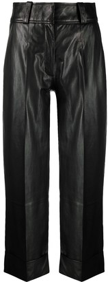 Arma Cropped Straight-Leg Trousers
