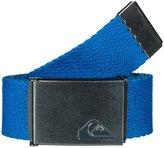 Quiksilver Mens The Jam - Reversible Belt Reversible Webbing Belt Blue