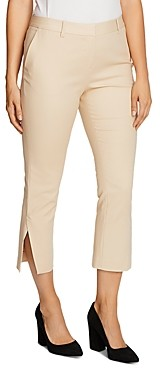 Vince Camuto Double-Weave Cropped Pants