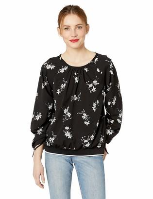 Kensie Women's Simply Floral Top