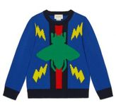 Gucci Little Boy's & Boy's Woolen Crewneck Sweater